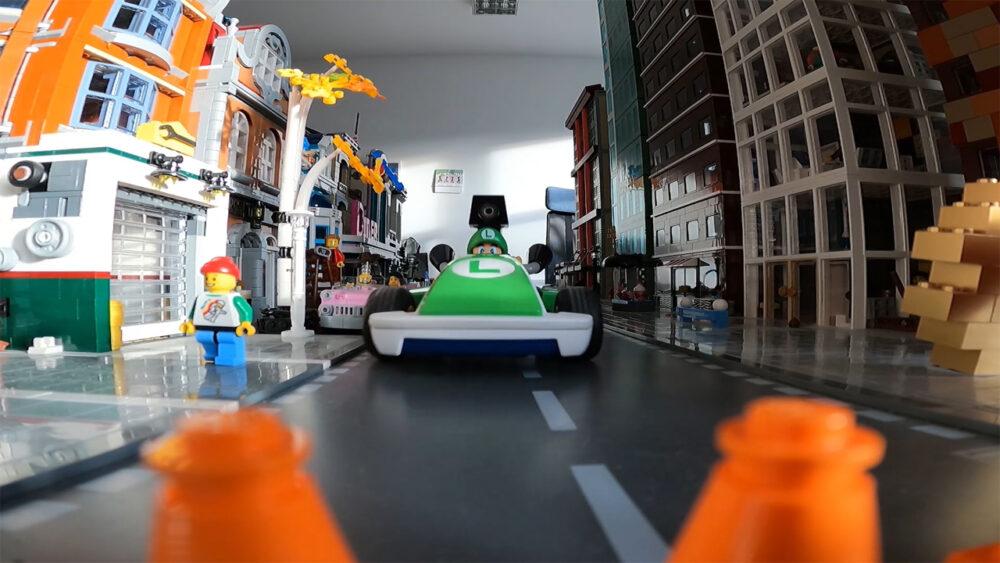 Mario Kart Live Home Circuit: Luigi zu Besuch in der New Ukonio City