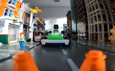 Mario Kart Live Home Circuit: Luigi zu Besuch in der New Ukonio City