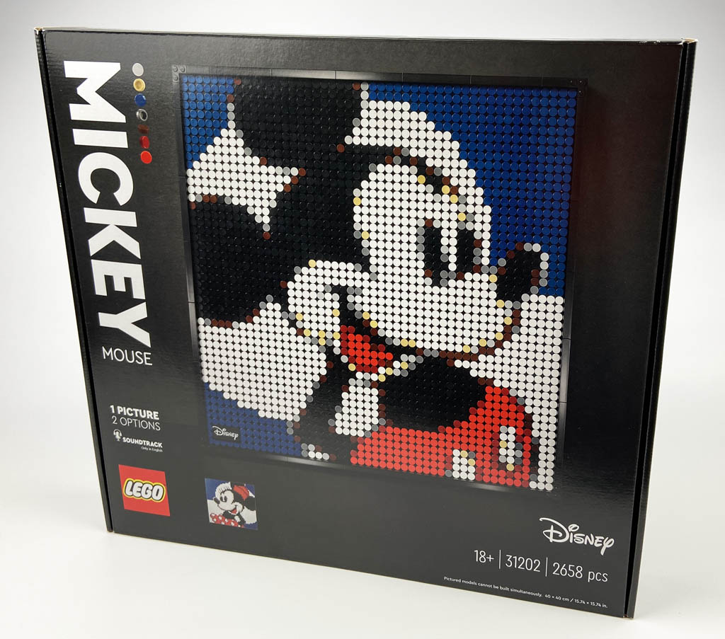 LEGO Art 31202 Mickey Mouse Box Frontansicht