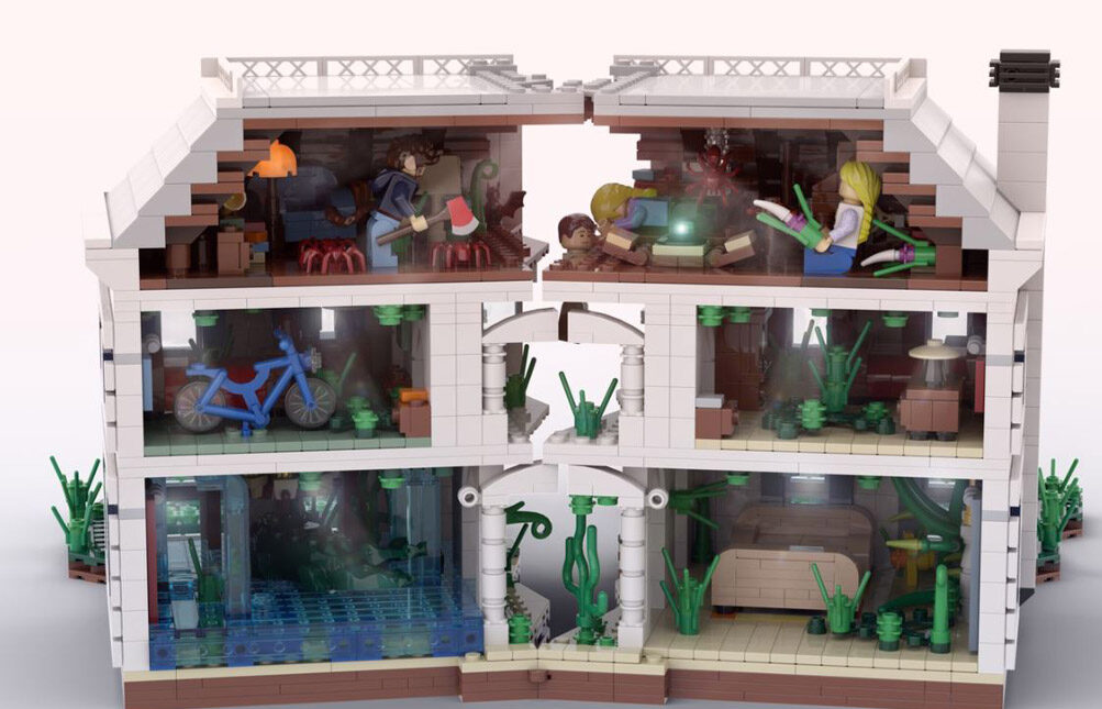 Jumanji of 1995 die Zimmer © 2020 LEGO Ideas / NIKANA