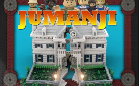 LEGO Ideas Entwurf Jumanji © LEGO Ideas / NIKANA of 1995