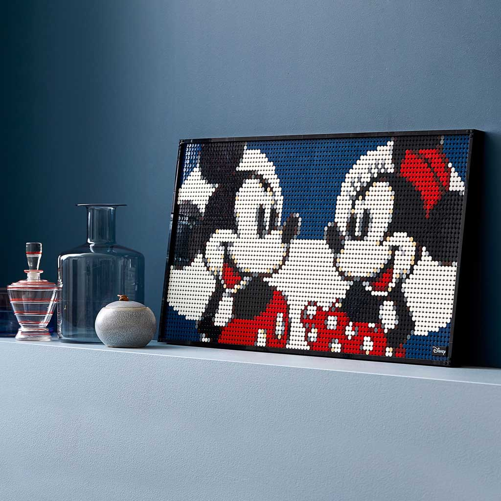 LEGO Art 31202 Mickey and Minnie Mouse