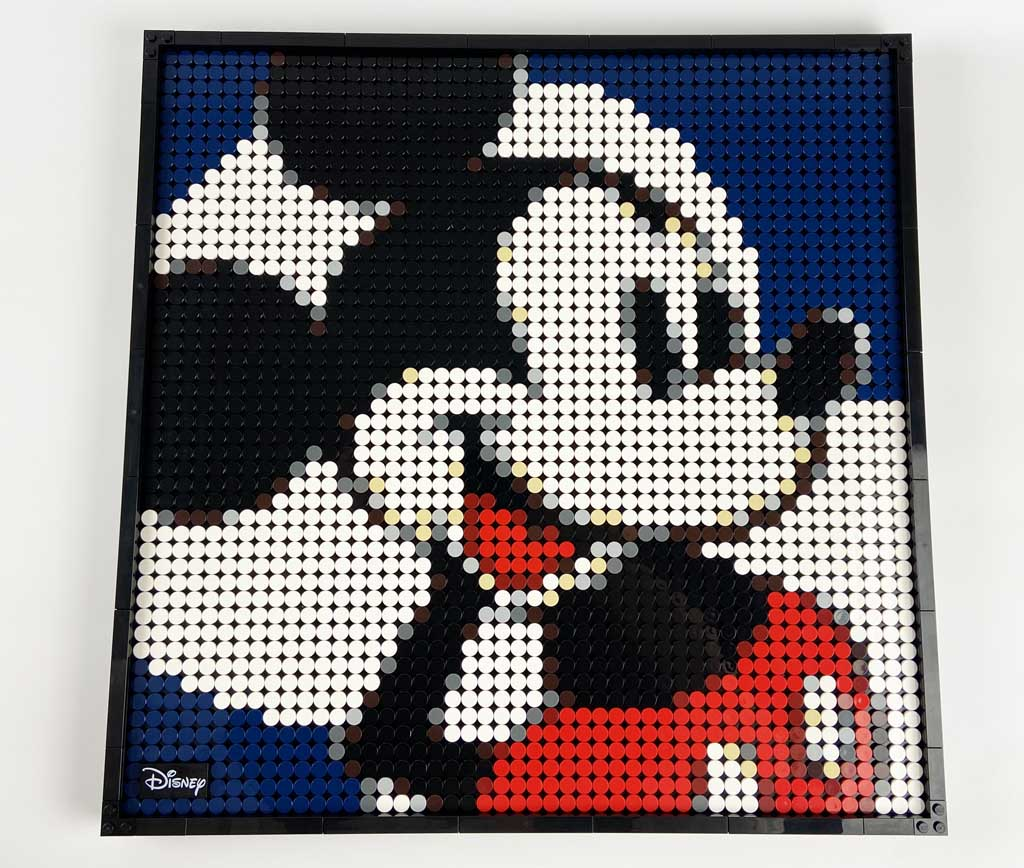 LEGO Art 31202 Mickey Mouse Done