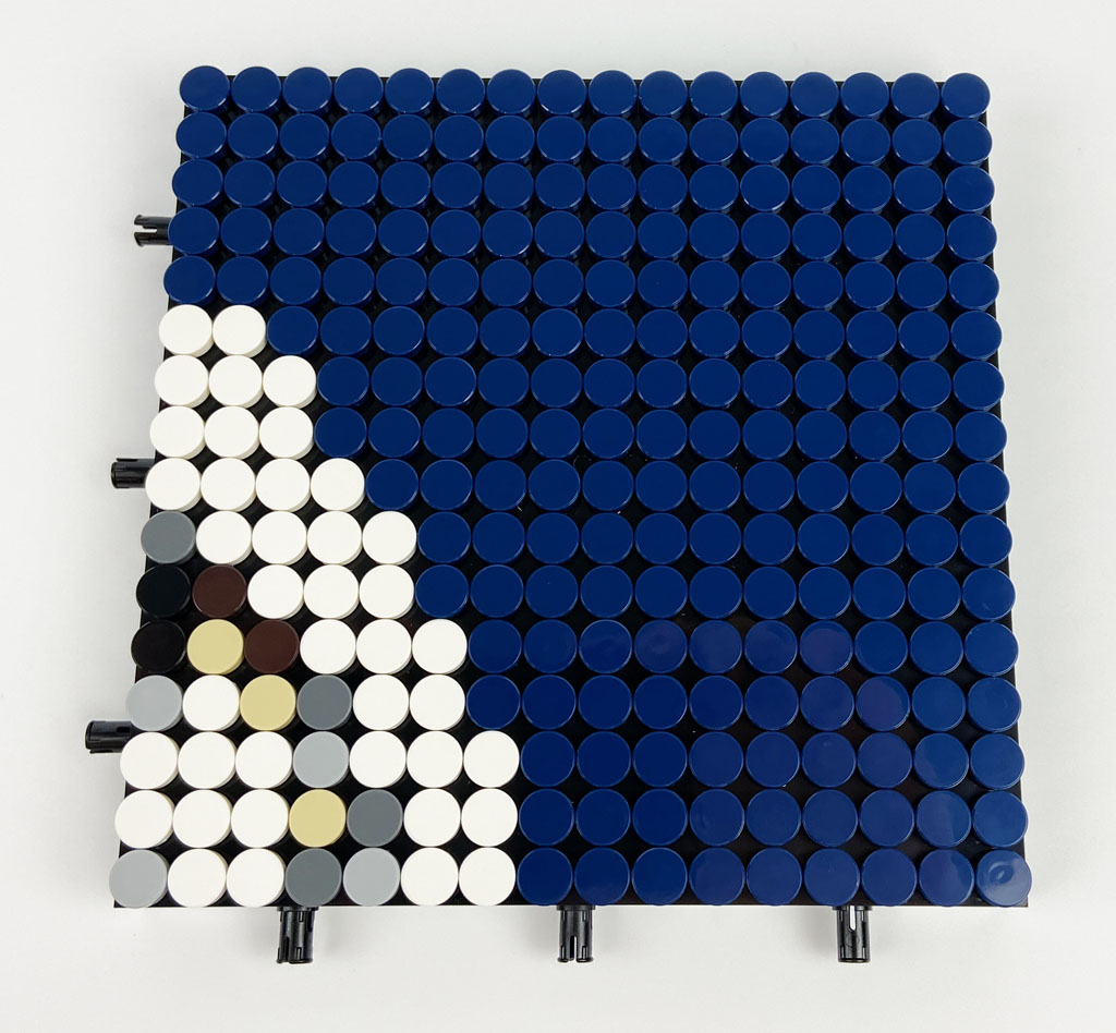 LEGO Art 31202 Mickey Mouse Box plate