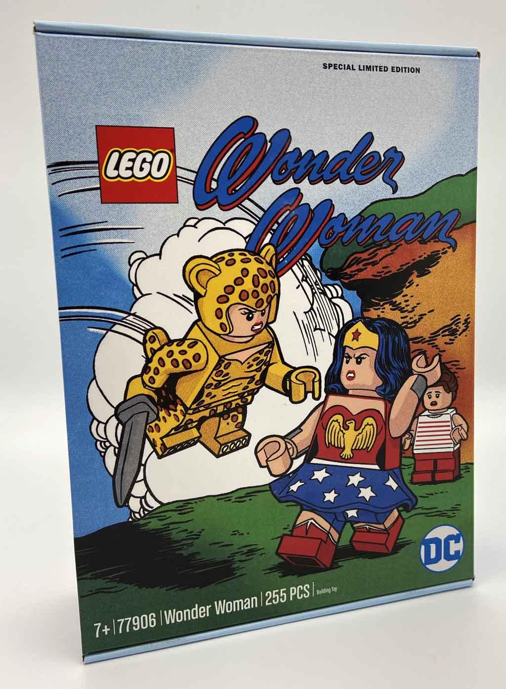 LEGO DC 77906 Wonder Woman 77906 Box Frontansicht