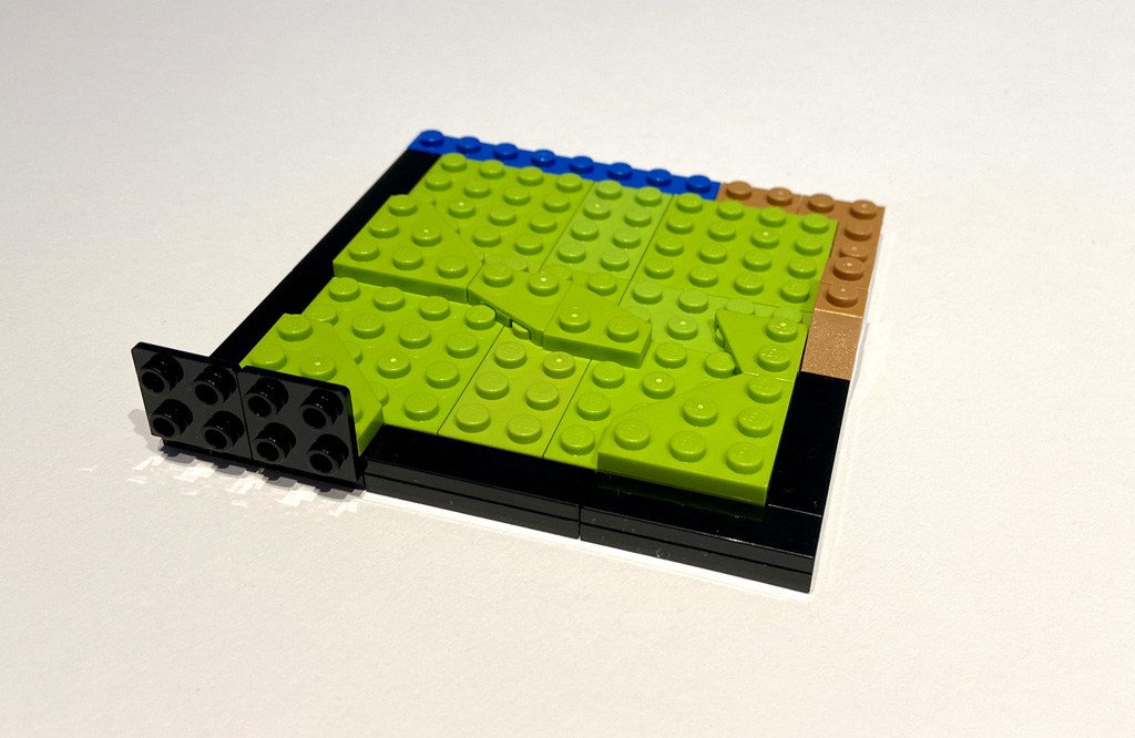LEGO DC 77906 Wonder Woman Grundplatten