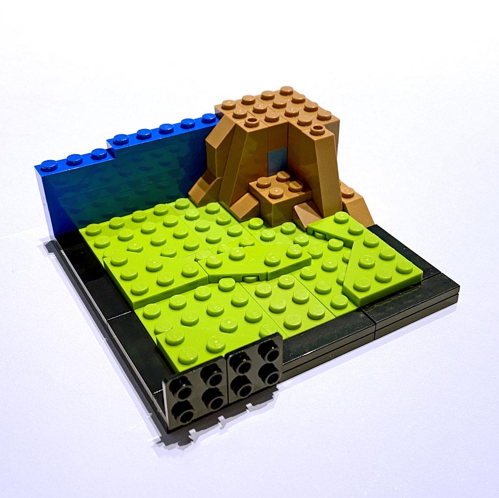 LEGO DC 77906 Wonder Woman Aufbau