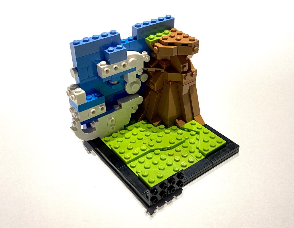 LEGO DC 77906 Wonder Woman Aufbau und weitere Wolken