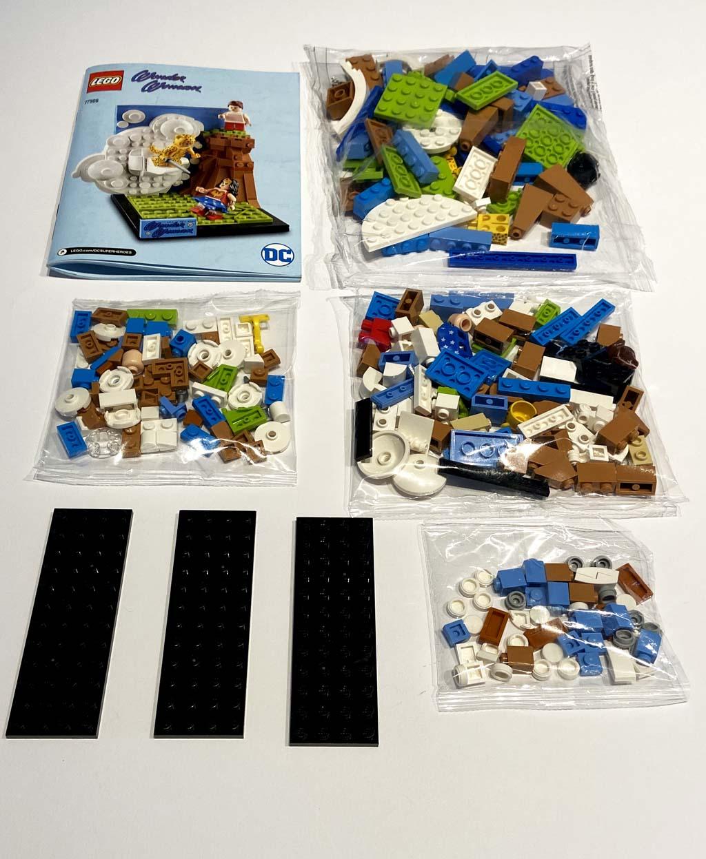 LEGO DC 77906 Wonder Woman Unboxing