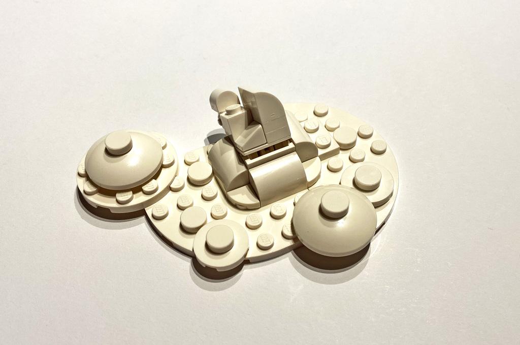 LEGO DC 77906 Wonder Woman Wolken