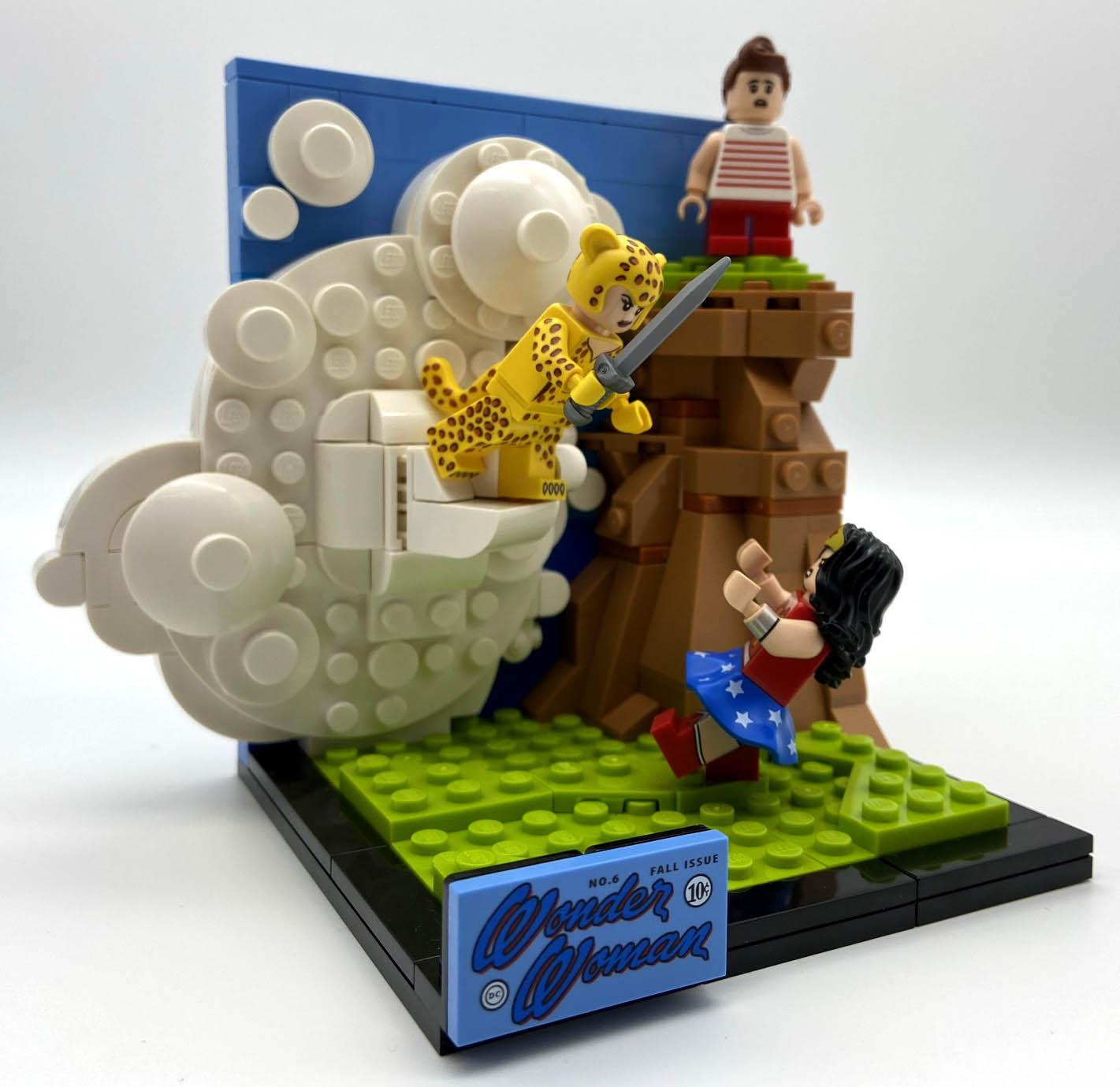 LEGO DC 77906 Wonder Woman das Set