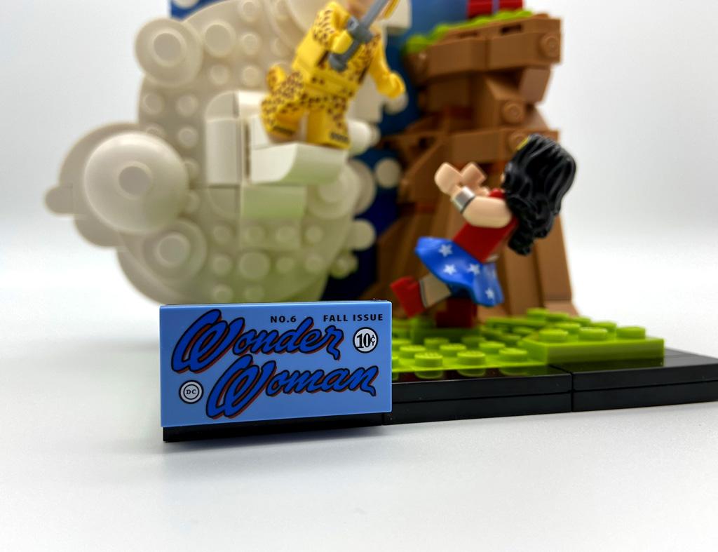 LEGO DC 77906 Wonder Woman Fliese