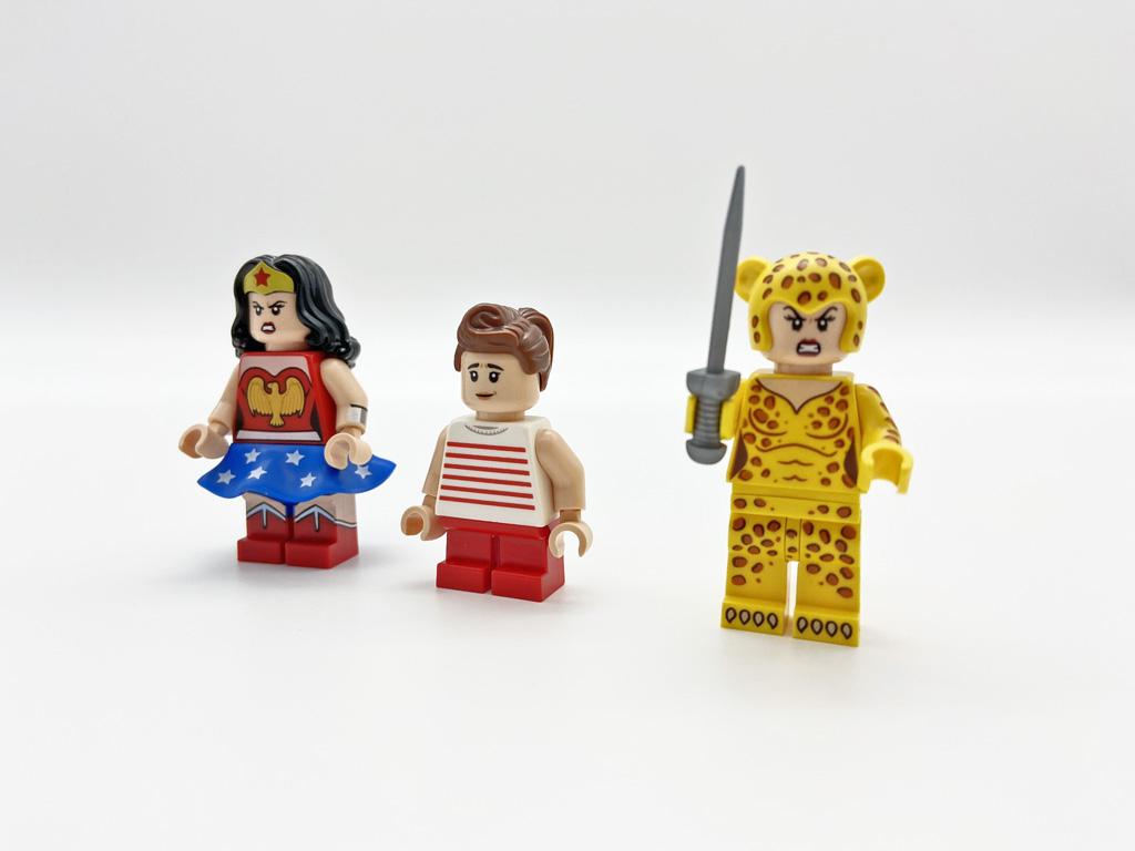 LEGO DC 77906 Wonder Woman Minifiguren Face 1