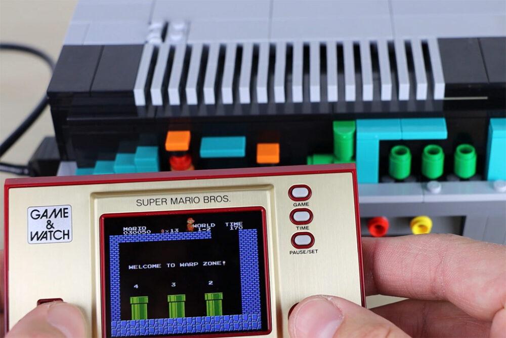 Game und Watch: Super Mario Bros. und LEGO 71374 NES