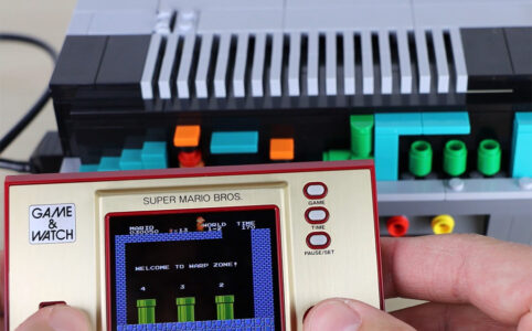Game und Watch: Super Mario Bros. und LEGO 71374 NES