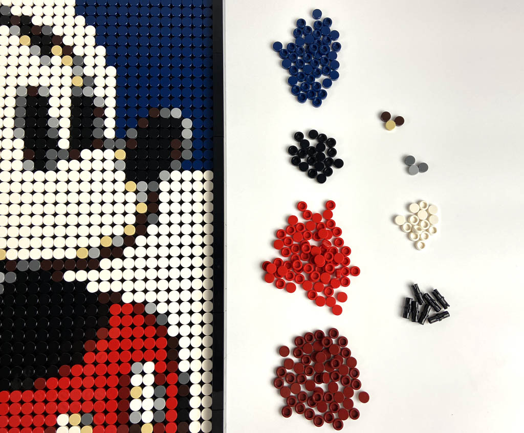 LEGO Art 31202 Mickey Mouse Parts