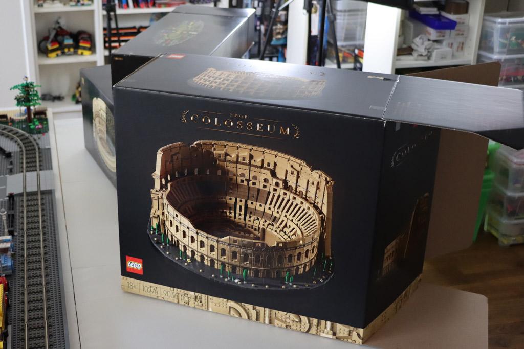 LEGO 10276 Kolosseum Karton Box