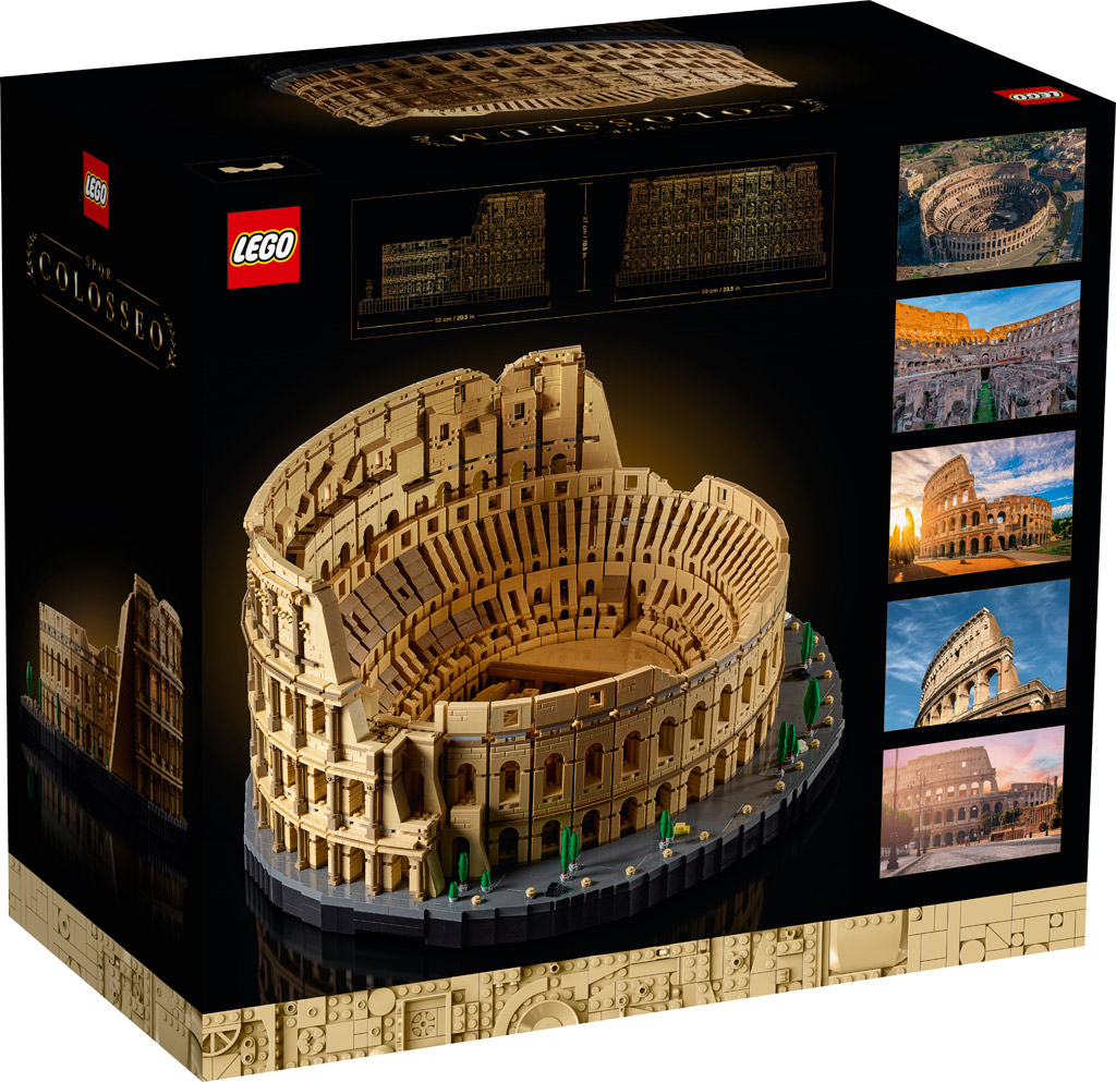 LEGO 18+ 10276 Kolosseum Riesige Box