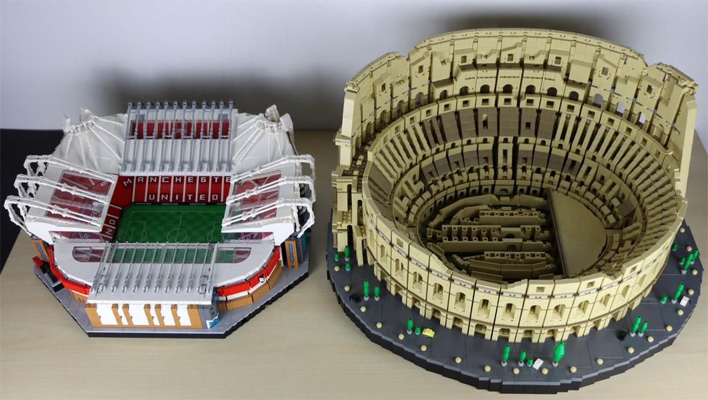 LEGO 10272 Old Trafford – Manchester United und 10276 Kolosseum