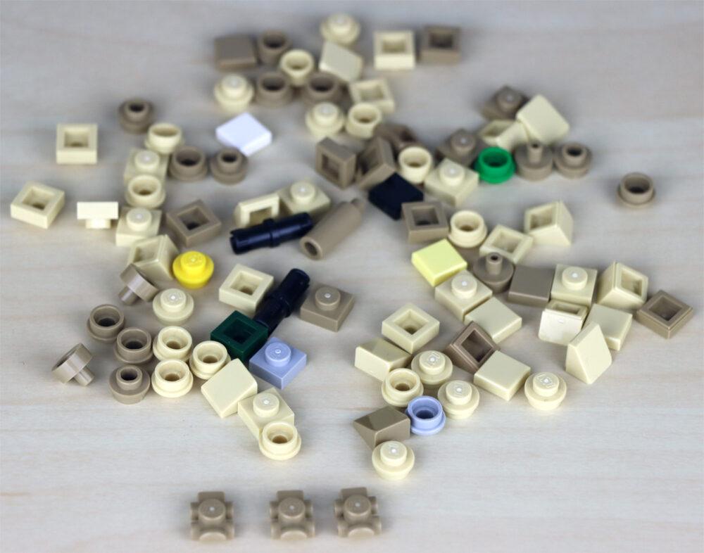 Extra Bricks, darunter: Der neue LEGO Technic Pin!