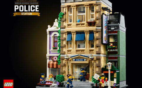 LEGO 18+ Modular Building 10278 Polizeistation