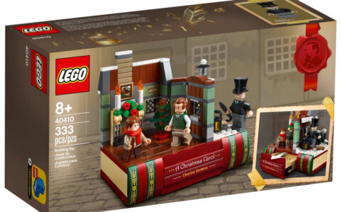 LEGO 40410 Hommage an Charles Dickens: Die Box