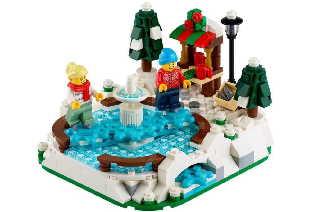 LEGO Seasonal 40416 Eislaufplatz