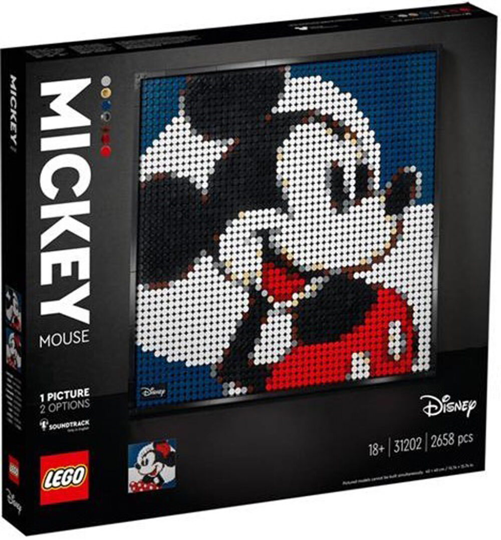 LEGO Art 31202 Mickey Mouse