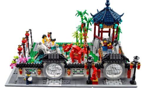 LEGO Chinesisches Neujahr: Tempel-Garten