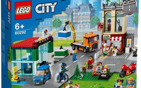LEGO City 60292 Town Centre: Ein neues Stadtzentrum