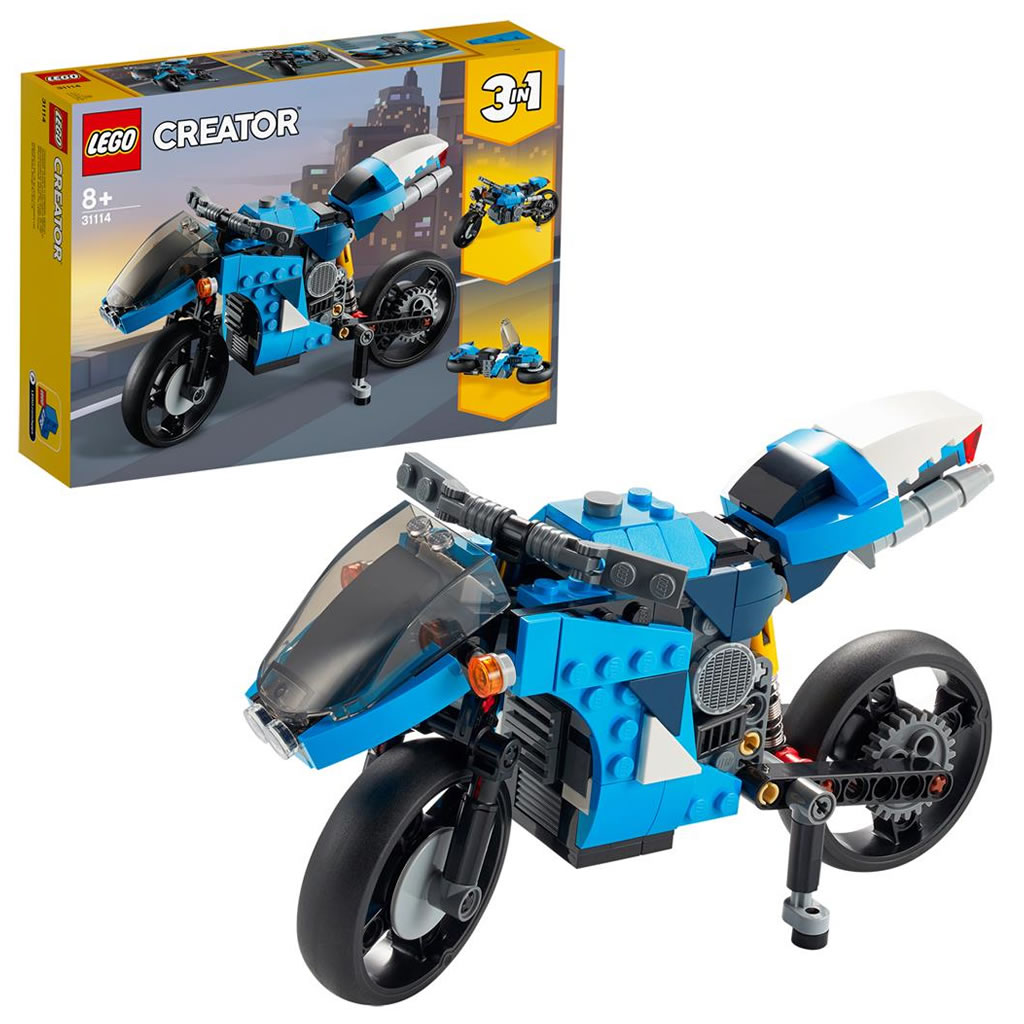 LEGO Creator 31114 Super Motorbike