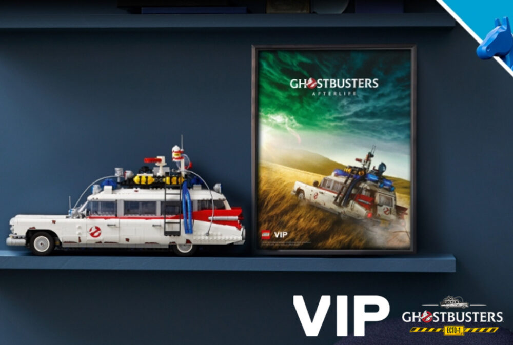 LEGO 10274 Ghostbusters ECTO-1 mit VIP-Poster