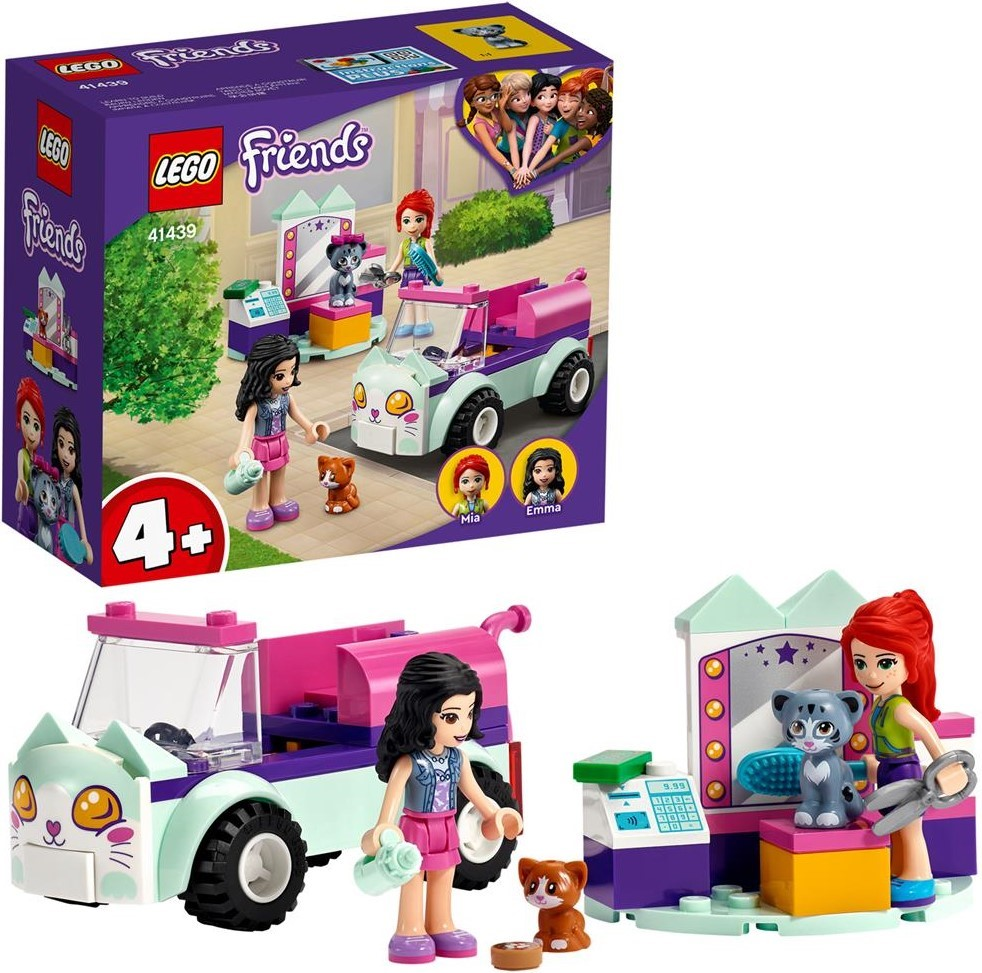 LEGO Friends 41439 Cat Grooming Car