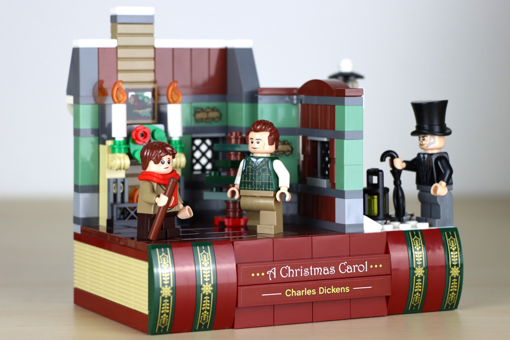 LEGO Gratis-Beigabe 40410 Hommage an Charles Dickens