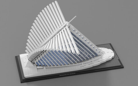 LEGO Ideas Milwaukee Art Museum Entwurf von vidaandras