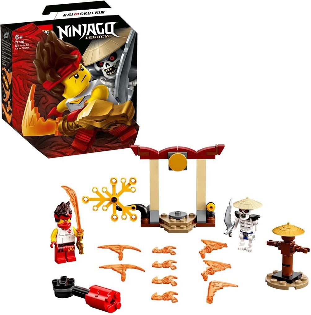 LEGO Ninjago 71730 Epic Battle Set: Kai vs. Skulkin