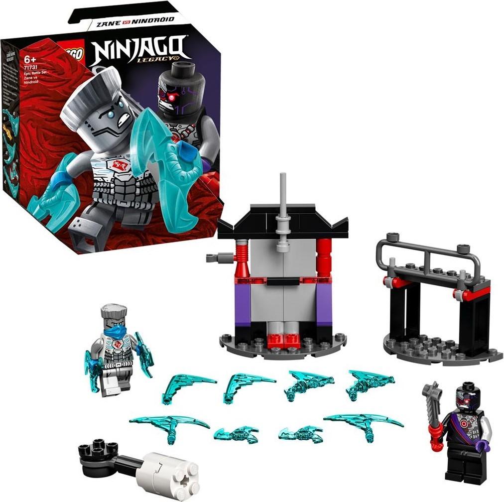 LEGO Ninjago 71731 Epic Battle Set: Zane vs. Nindroid