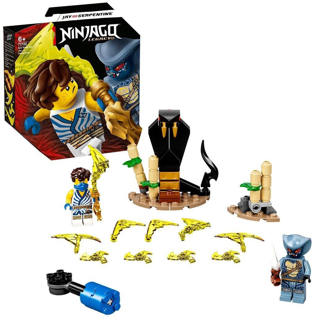 LEGO Ninjago 71732 Epic Battle Set: Jay vs. Serpentine