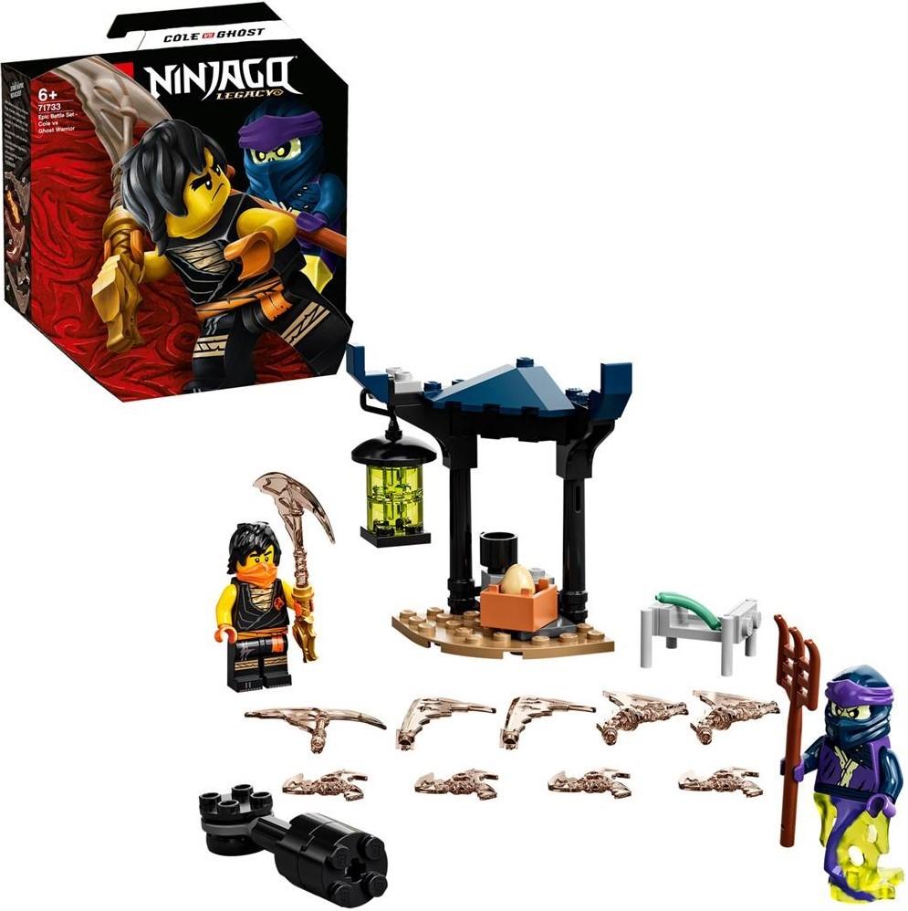 LEGO Ninjago 71733 Epic Battle Set: Cole vs. Ghost