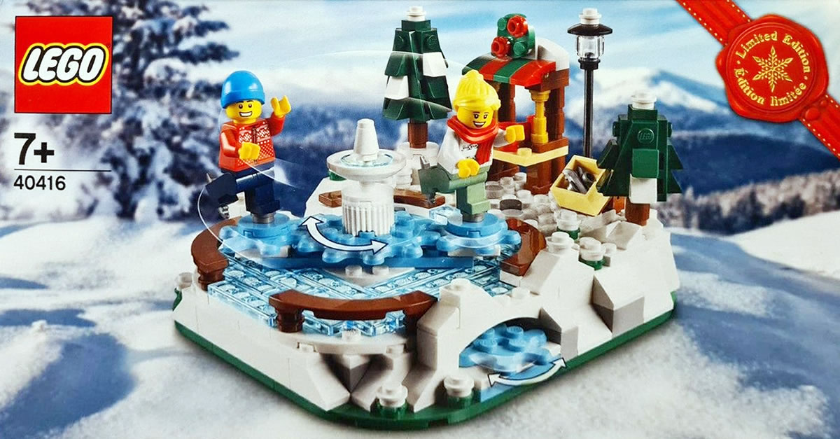 LEGO Seasonal 40416 Eislaufbahn