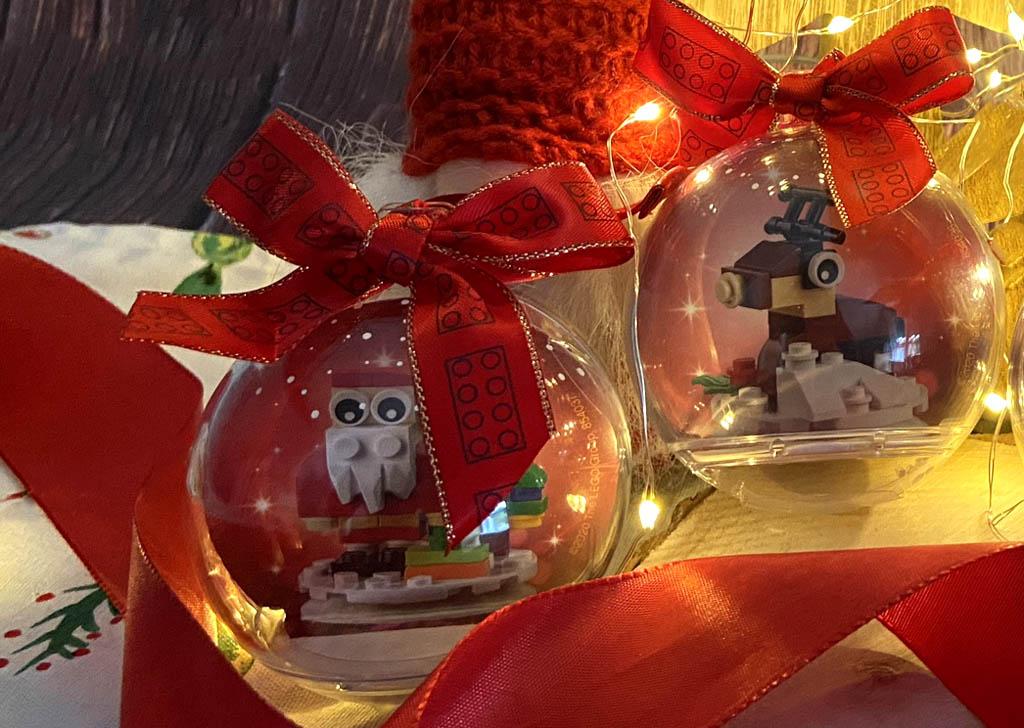 LEGO Sesonals 854037 und 854038 Weihnachtsmann und Rentier