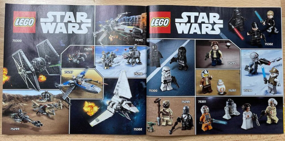LEGO Star Wars Katalog 2021