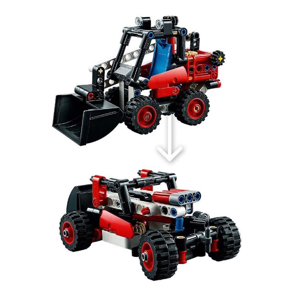LEGO Technic 42116 Skid Steer Loader B-Modell