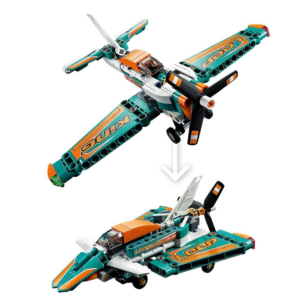 LEGO Technic 42117 Race Plane B-Modell