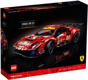 "LEGO Technic 42125 Ferrari 488 GTE ""AF Corse #51"" 2021"