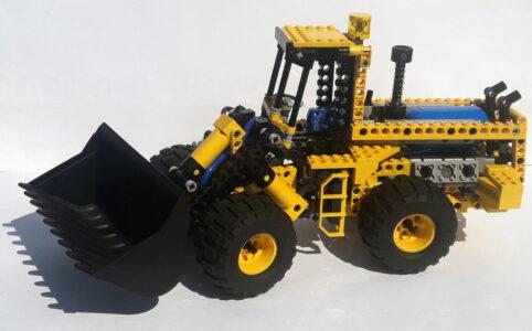 LEGO Technic 8464 Pneumatik Radlader