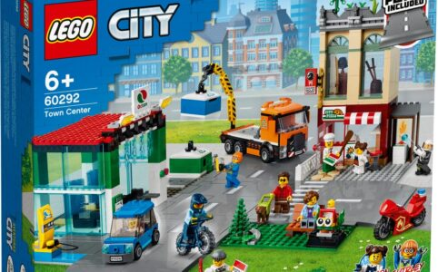 LEGO City 60292 Town Centre: Ein neues Stadtzentrum