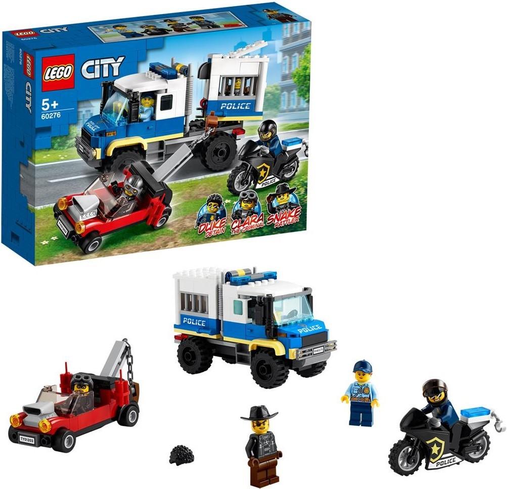LEGO City Polizei Gefangenentransporter