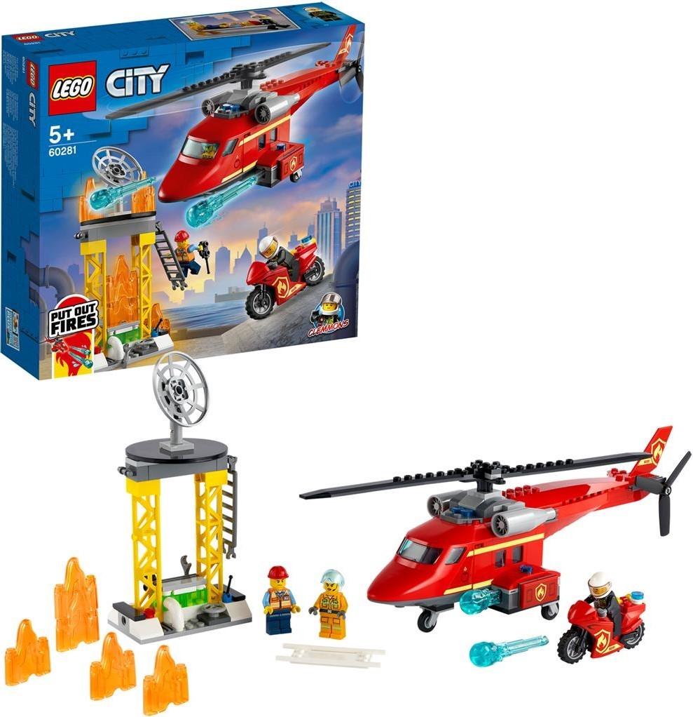 LEGO City Feuerwehrhubschrauber