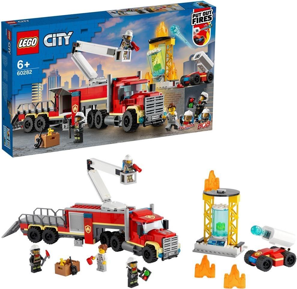 LEGO City Mobile Feuerwehreinsatzzentrale